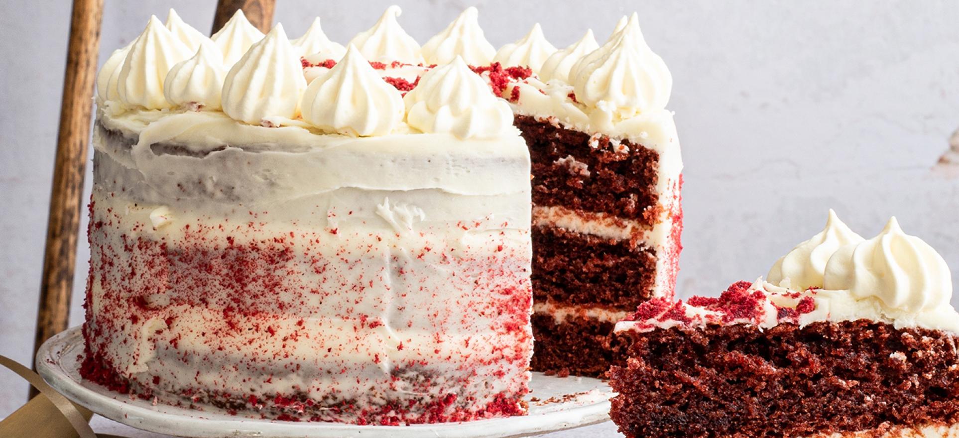 Show Stopping Christmas Red Velvet Cake Avonmore