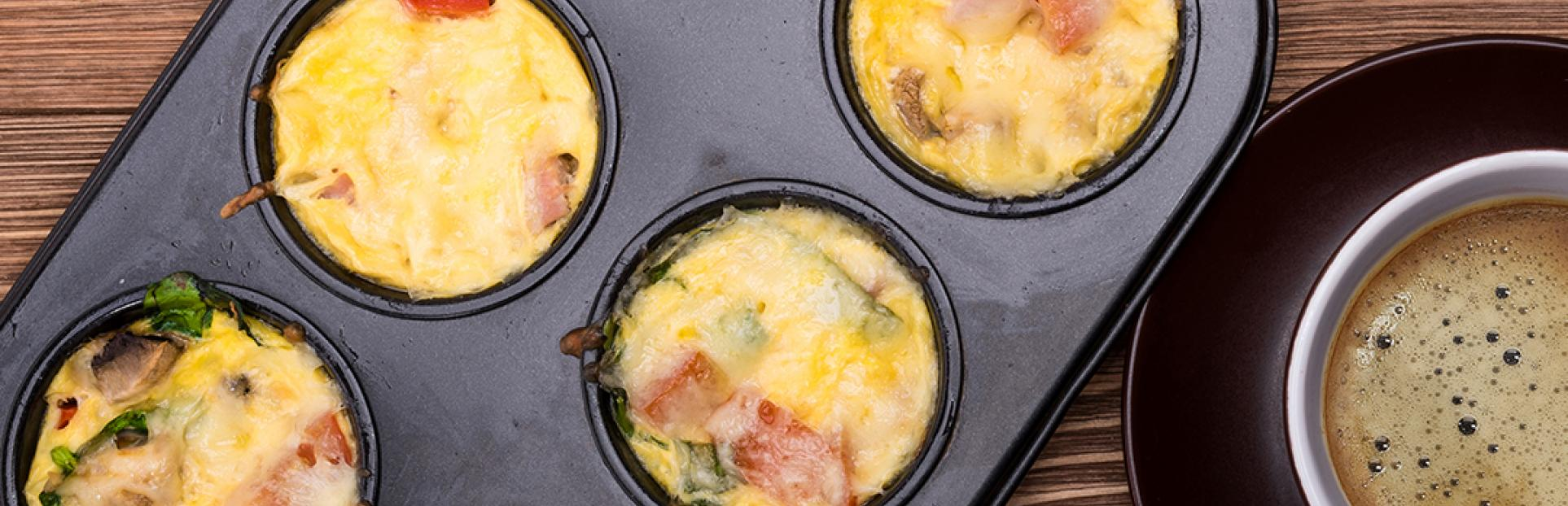 Egg Muffin Recipe by Cook With Avonmore