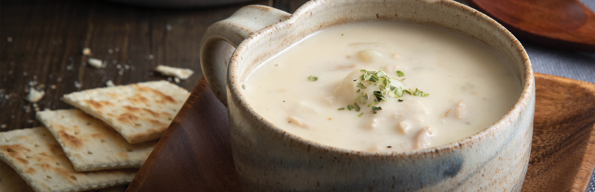 an image of seafood chowder