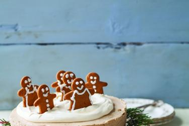 Gingerbreadmen cheesecake recipe