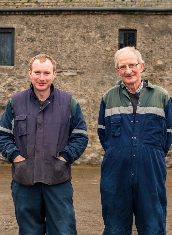 an image of Trevor & David Bennett, Abbelyleix, Co. Laois