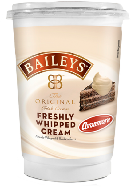 Baileys Whipped Cream