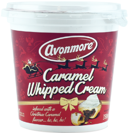 Caramel Whipped Cream