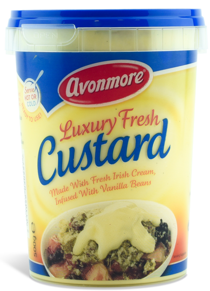 luxury fresh custard