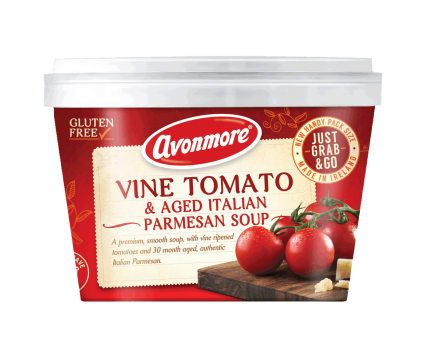 an image of vine tomato & aged italian parmesan