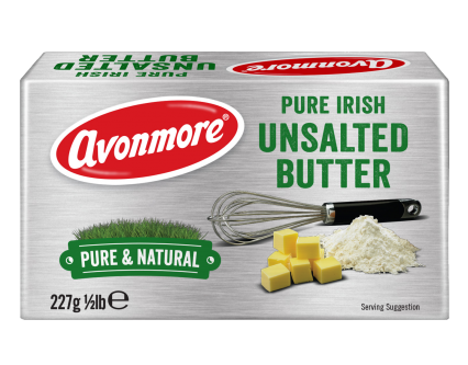 an image of avonmore pure irish unsalted butter