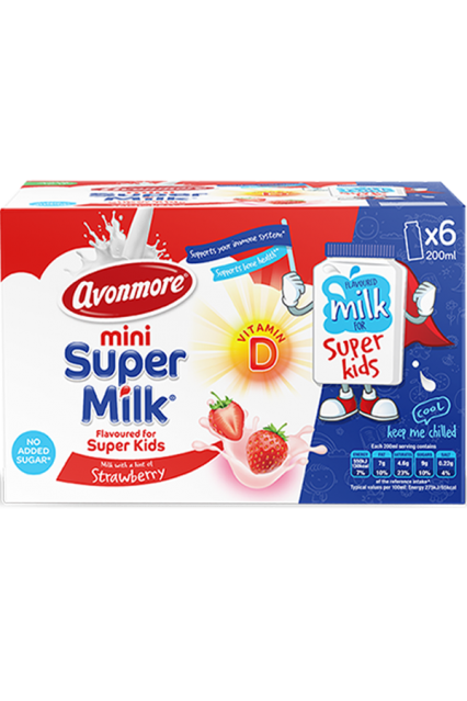 an image of avonmore supermilk minis