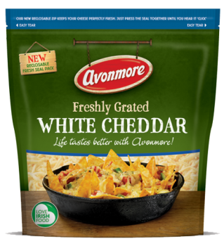 WhiteCheddarGrated